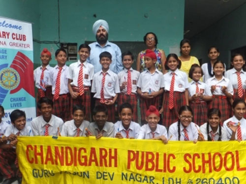 Dental Awareness Seminar at Chandigarh Public School