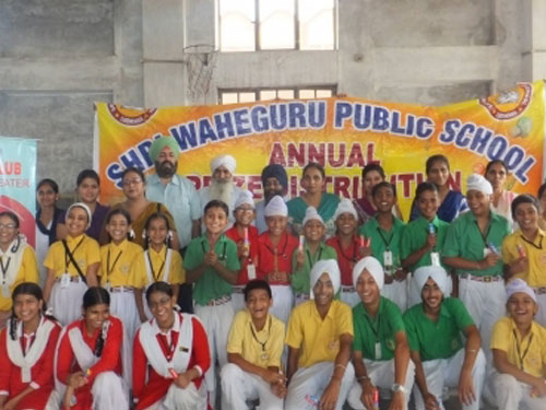 Dental Awarness seminar at Waheguru Public School